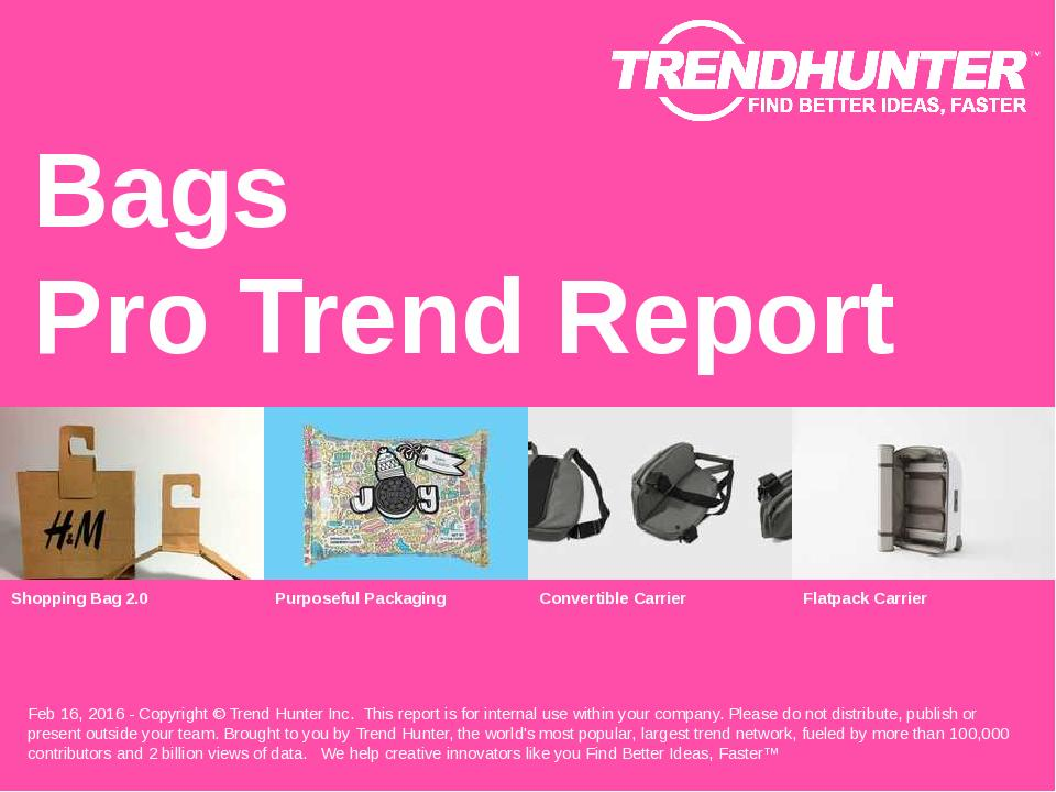 Bags Trend Report Research