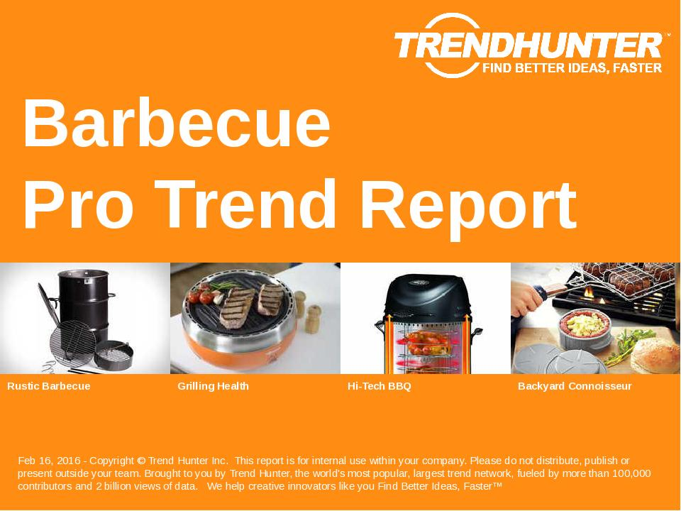 Barbecue Trend Report Research
