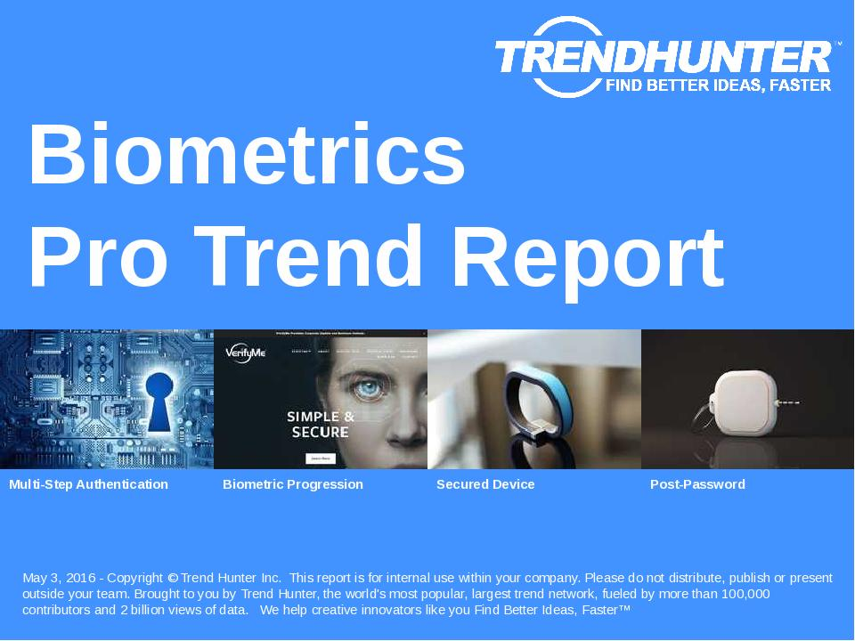 Biometrics Trend Report Research