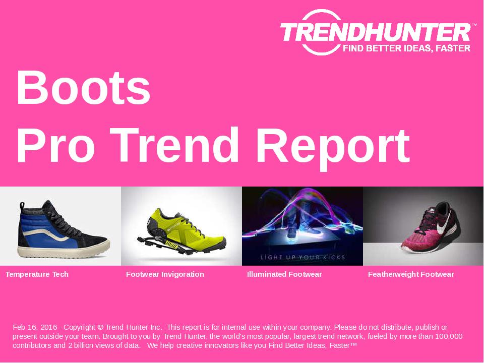 Boots Trend Report Research