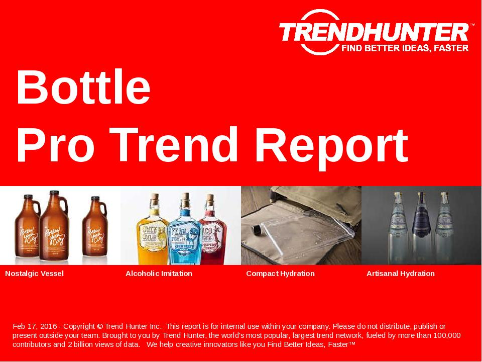 Bottle Trend Report Research