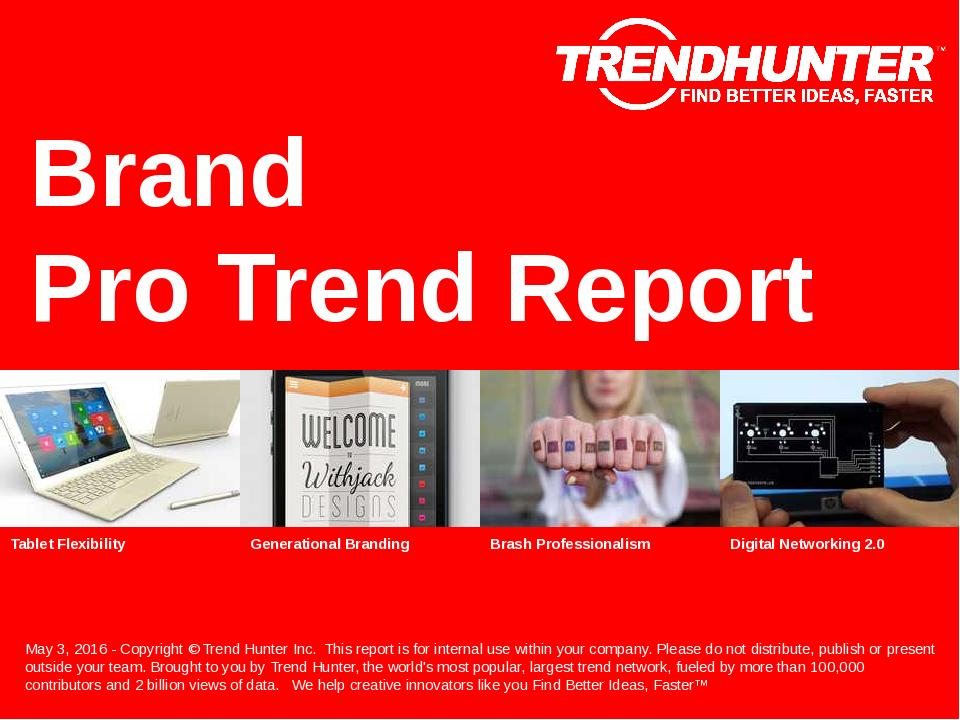 Brand Trend Report Research