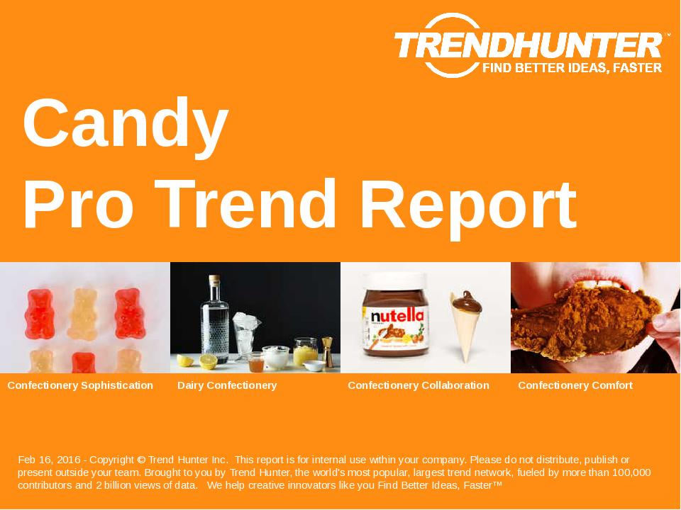 Candy Trend Report Research