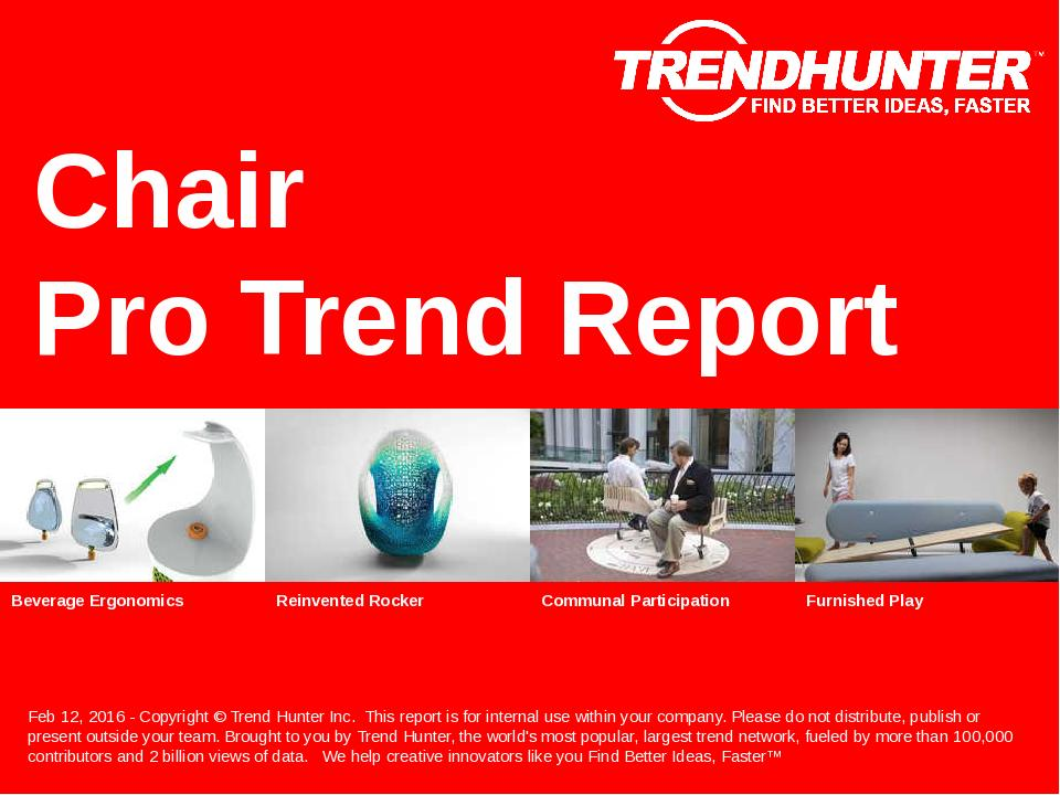 Chair Trend Report Research