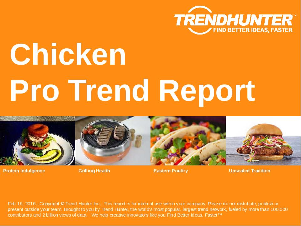 Chicken Trend Report Research