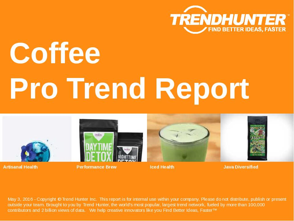Coffee Trend Report Research