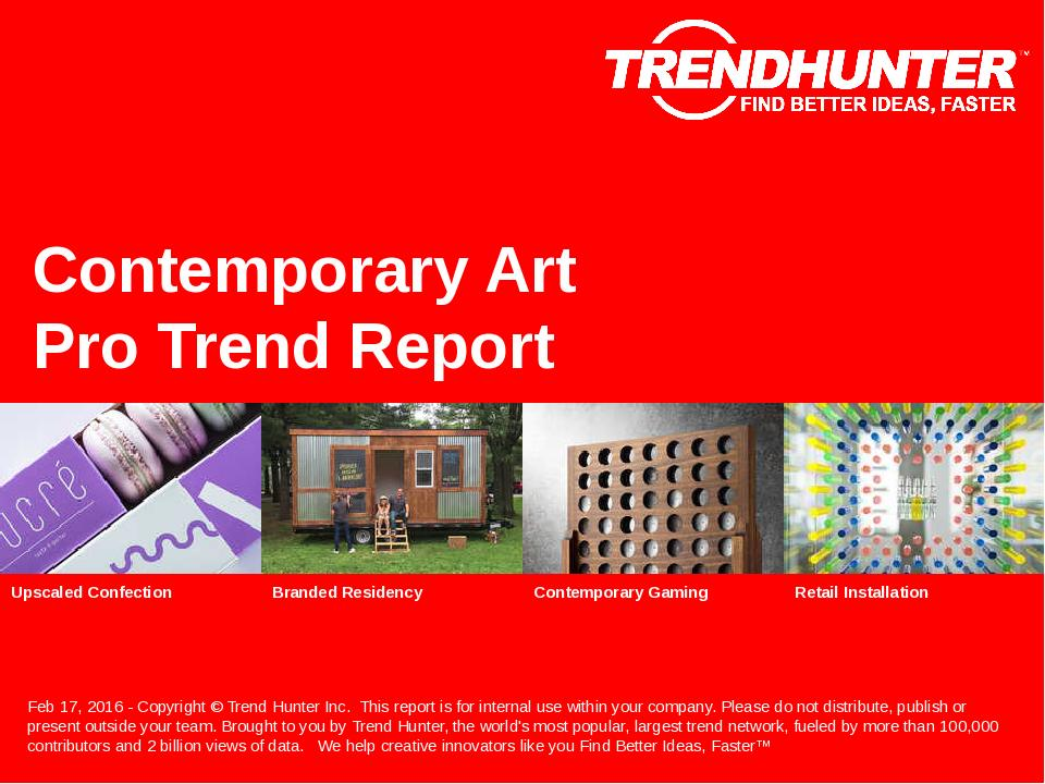 Contemporary Art Trend Report Research