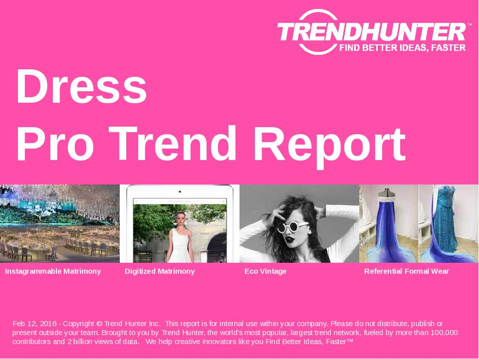 Dress Trend Report Research