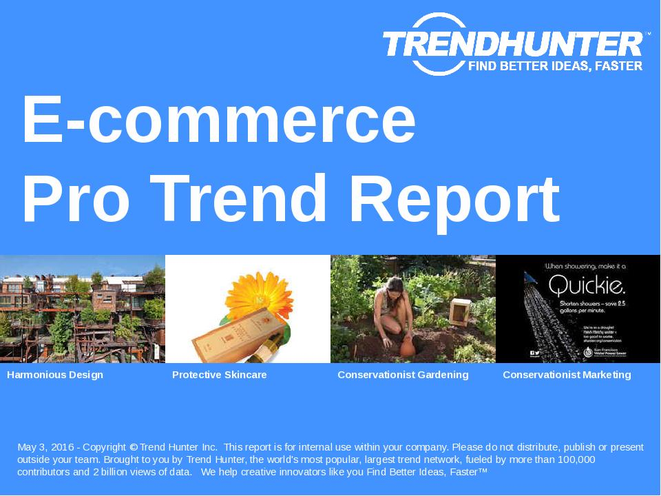 E-commerce Trend Report Research