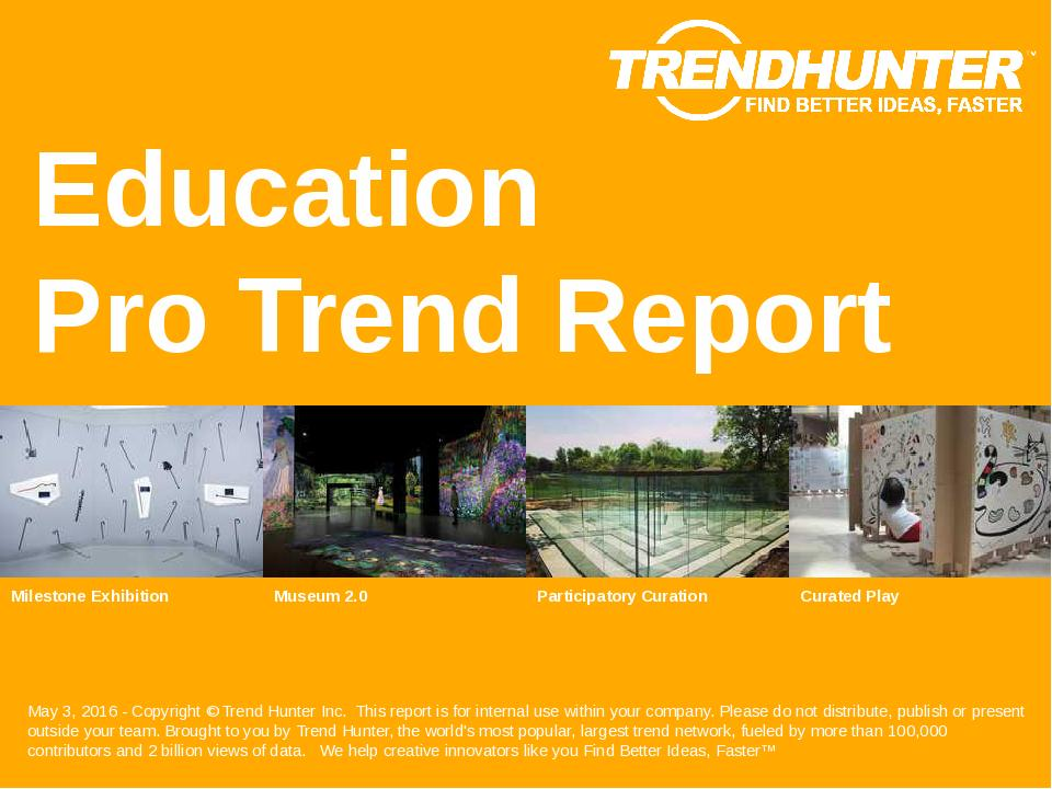 Education Trend Report Research