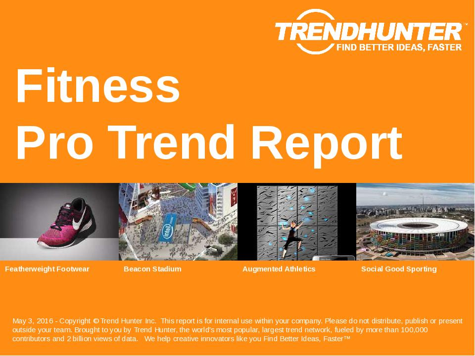 Fitness Trend Report Research