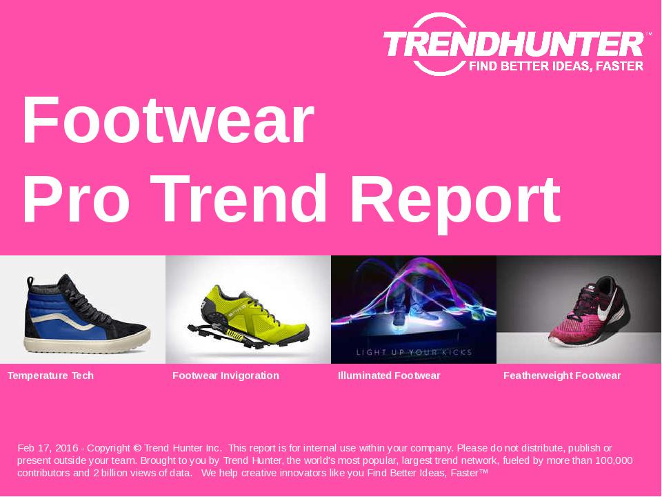 Footwear Trend Report Research