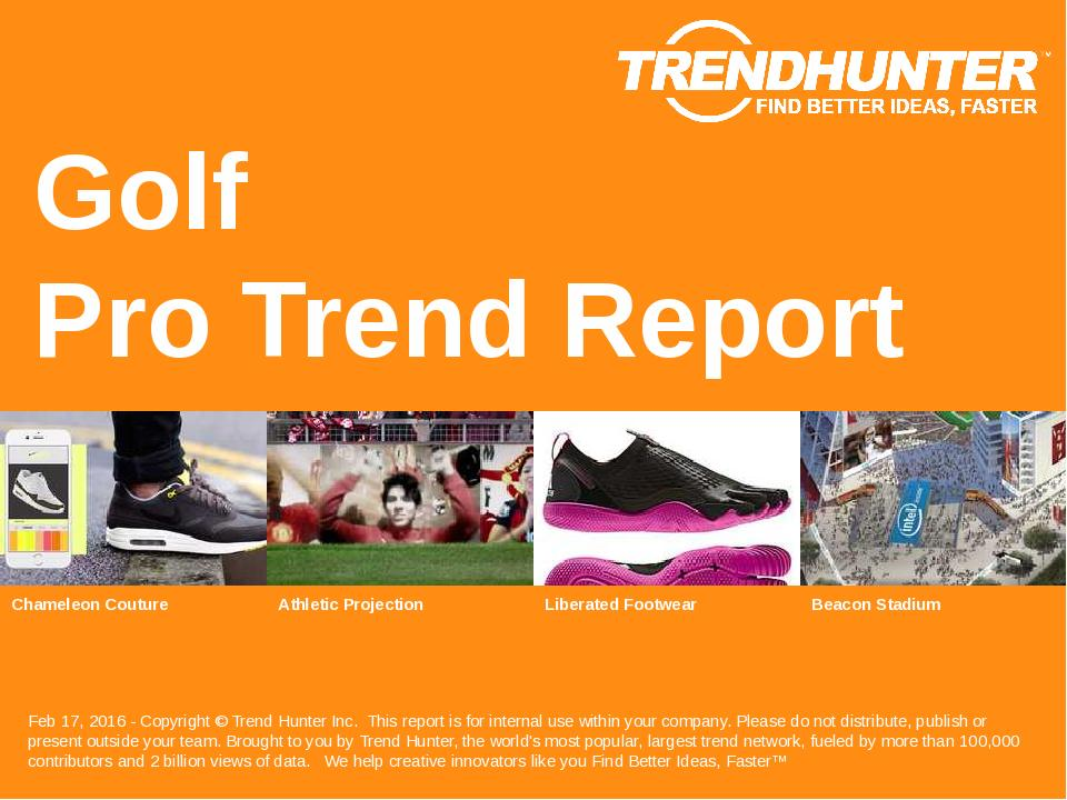 Golf Trend Report Research