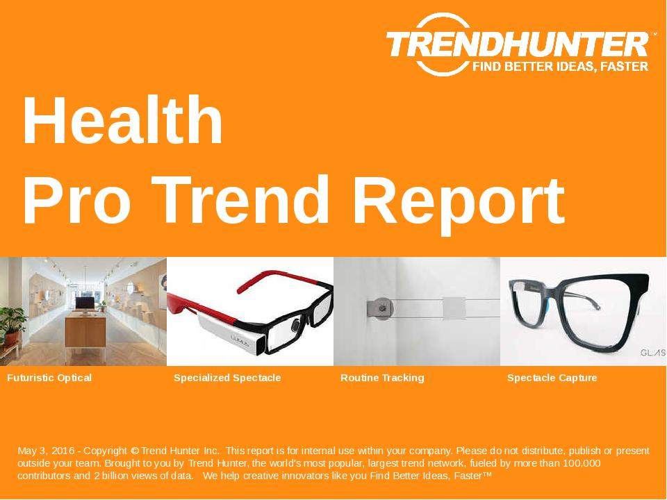 Health Trend Report Research