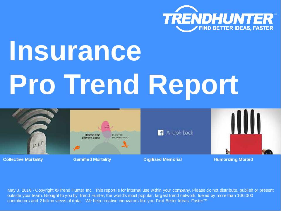 Insurance Trend Report Research