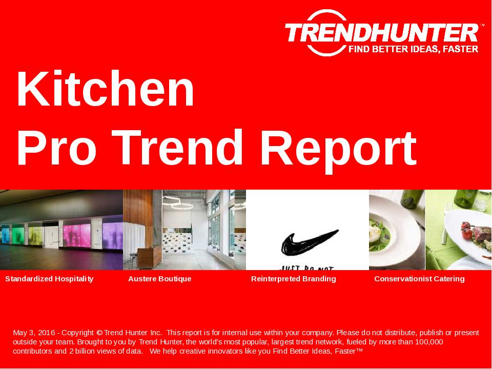 Kitchen Trend Report Research
