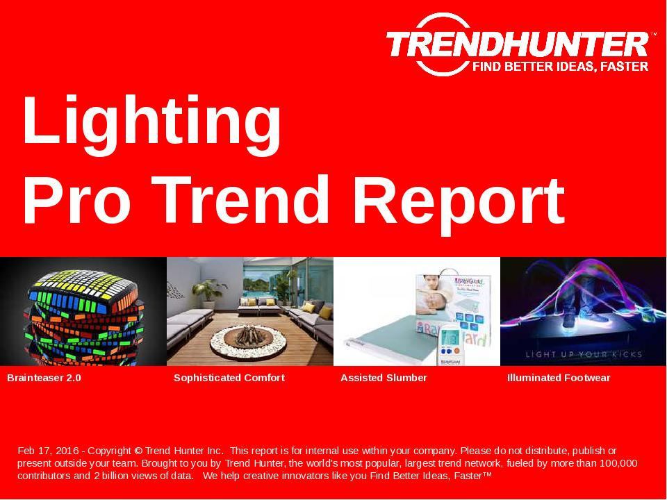 Lighting Trend Report Research