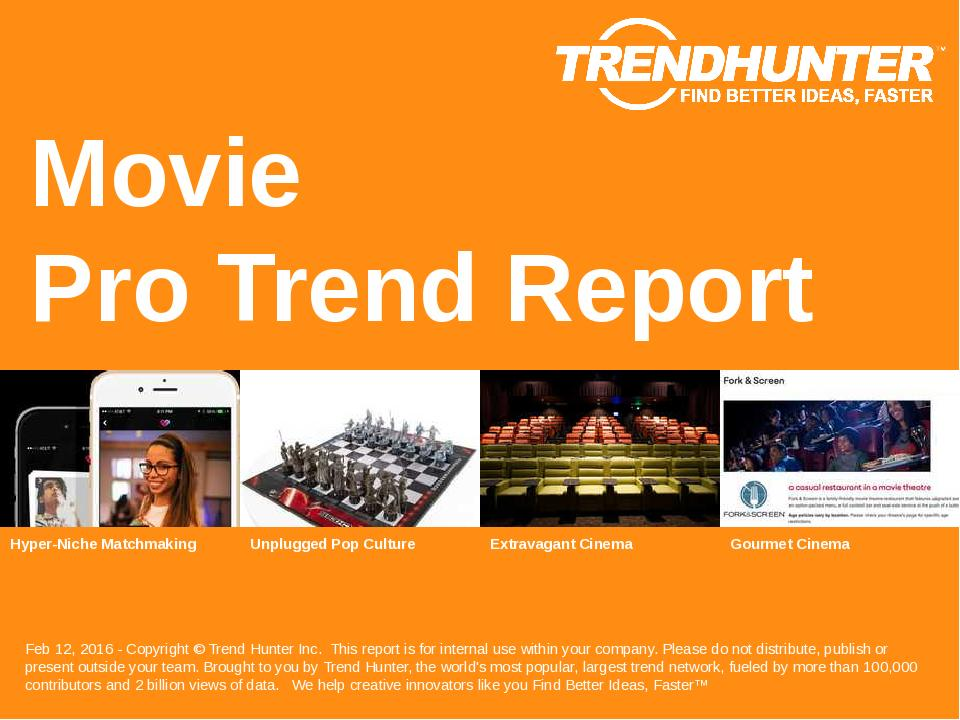 Movie Trend Report Research