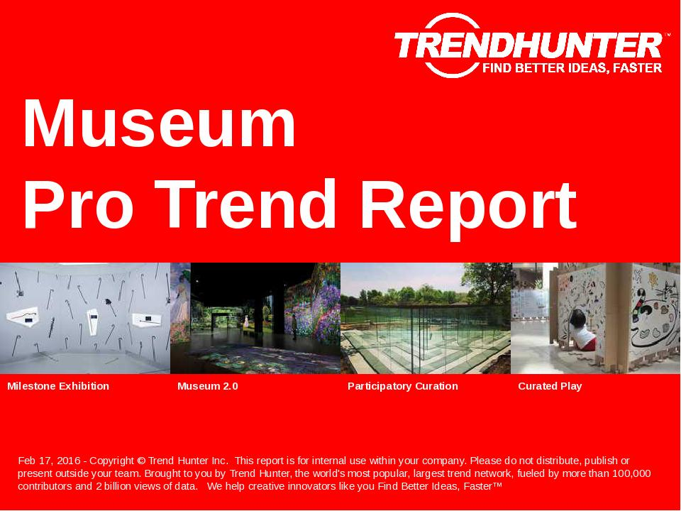 Museum Trend Report Research