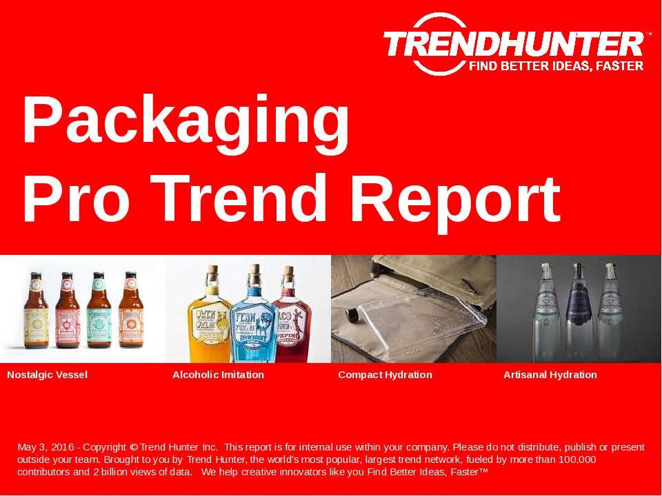 Packaging Trend Report Research