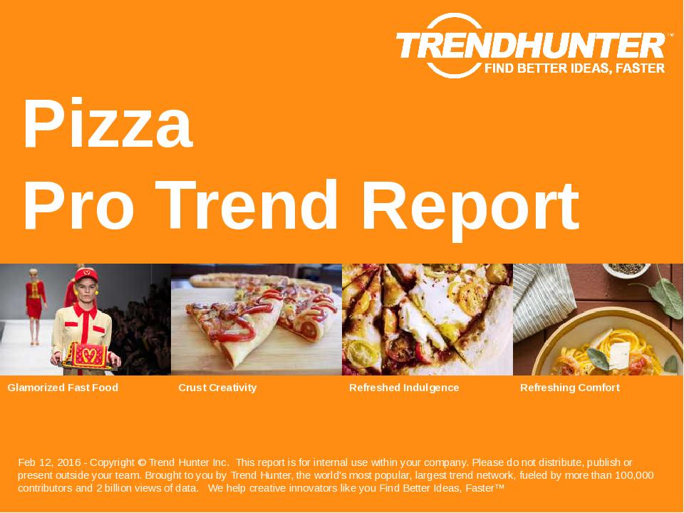 Pizza Trend Report Research