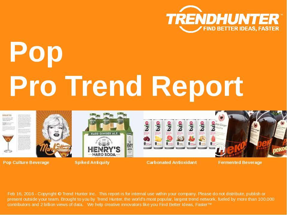 Pop Trend Report Research