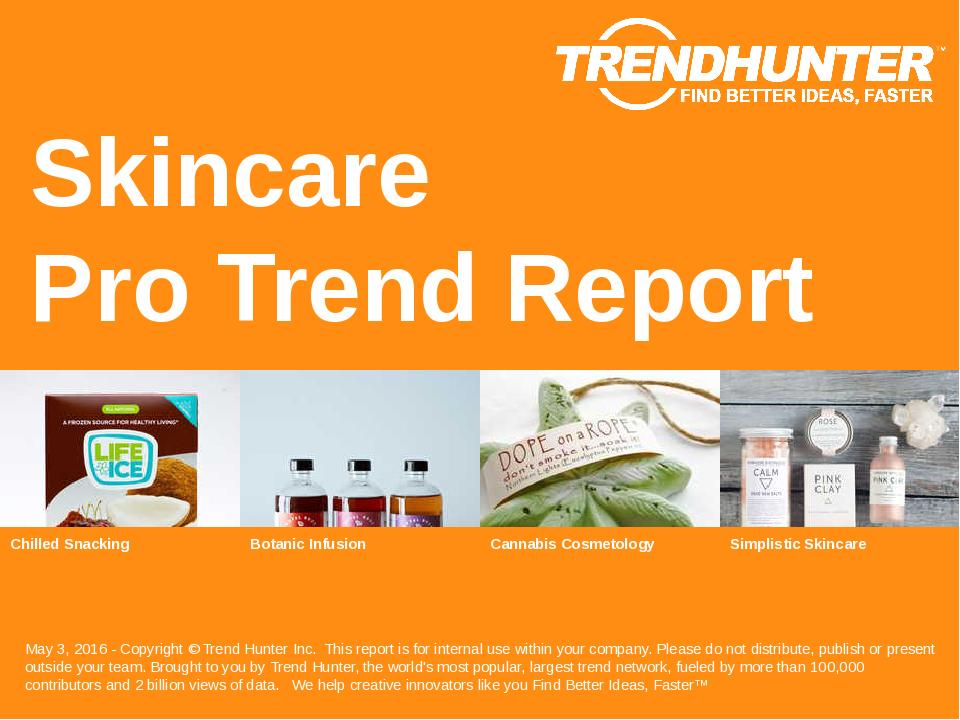 Skincare Trend Report Research