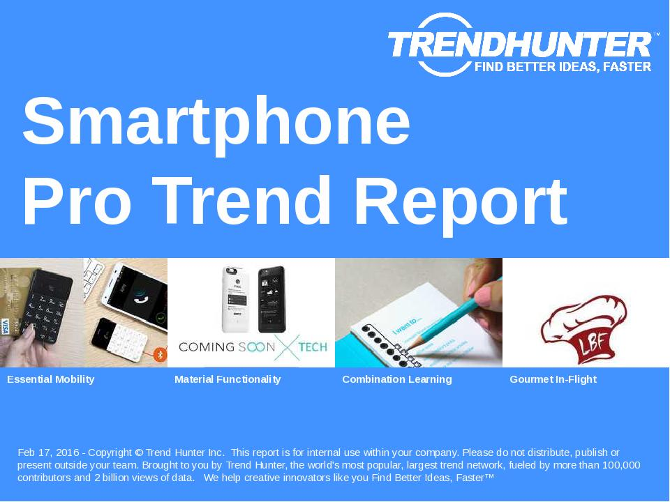Smartphone Trend Report Research