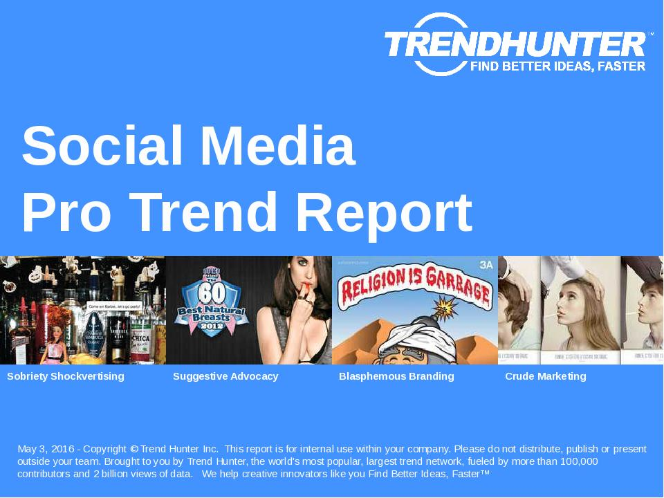 Social Media Trend Report Research