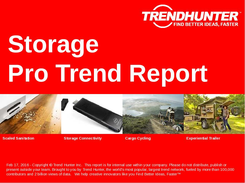 Storage Trend Report Research