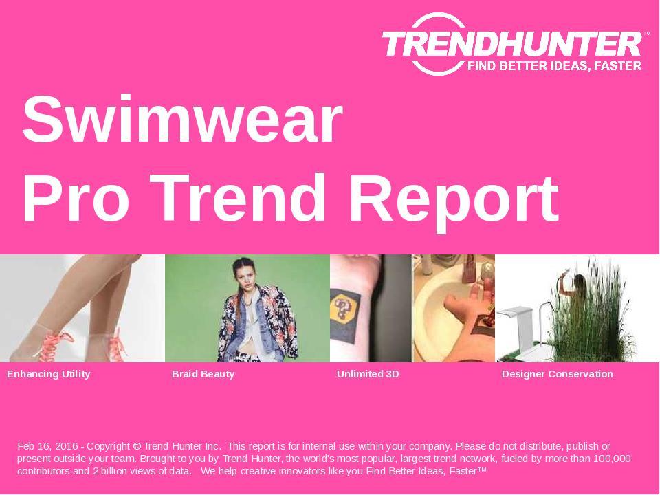 Swimwear Trend Report Research