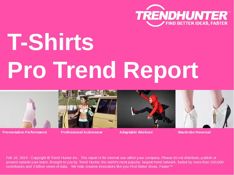 T-Shirts Trend Report Research