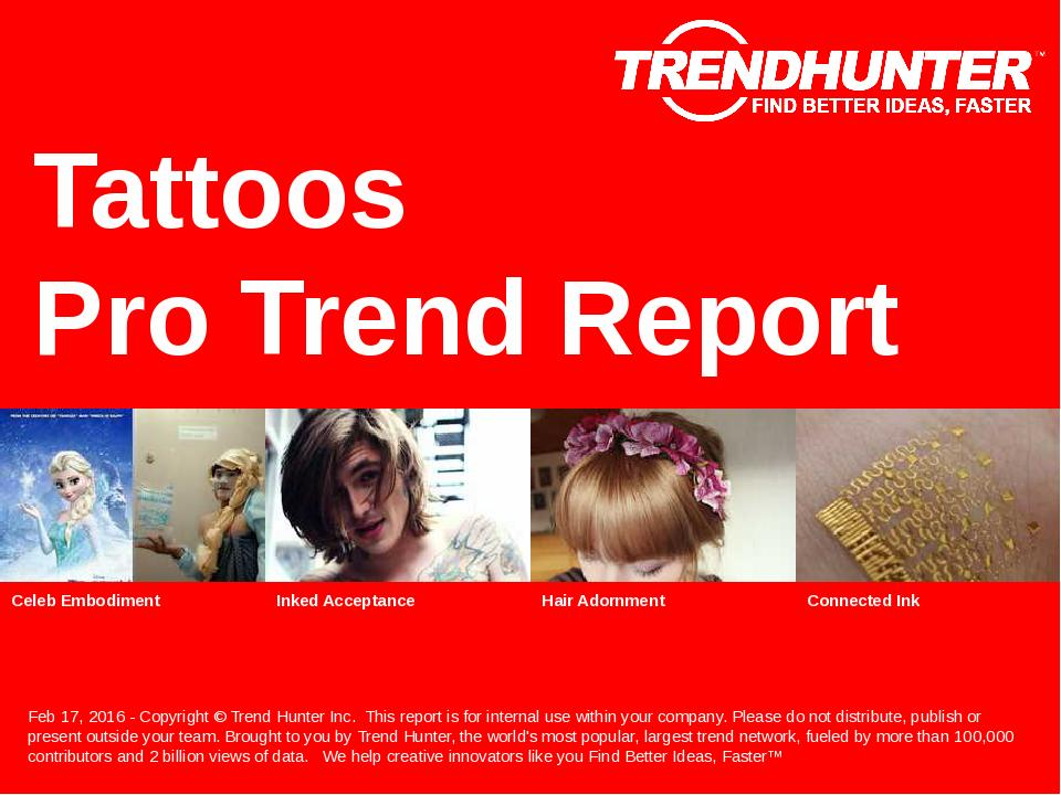 Tattoos Trend Report Research