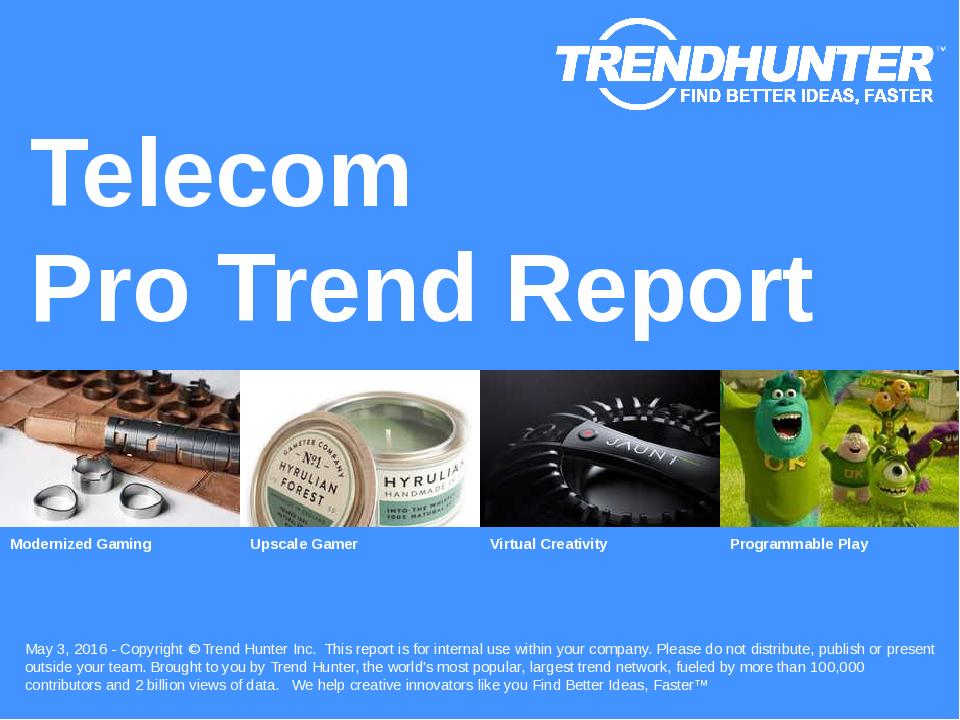 Telecom Trend Report Research