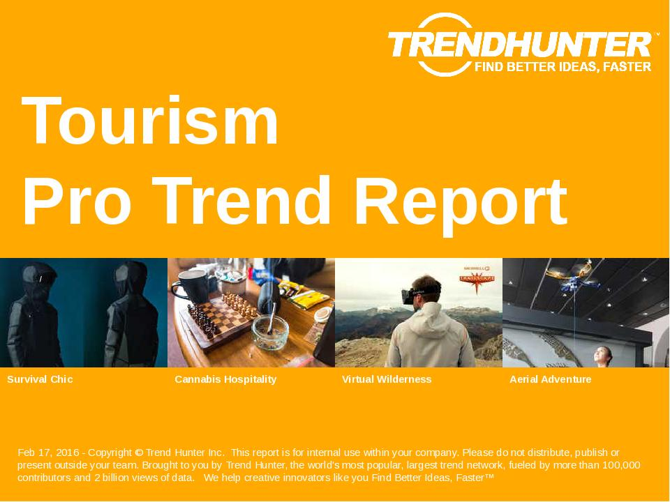 Tourism Trend Report Research