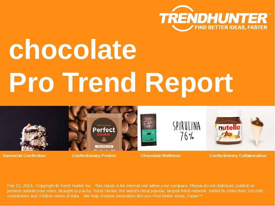 chocolate Trend Report Research