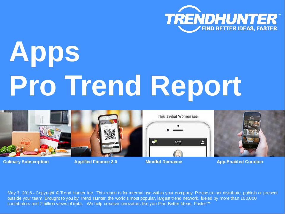 Apps Trend Report Research