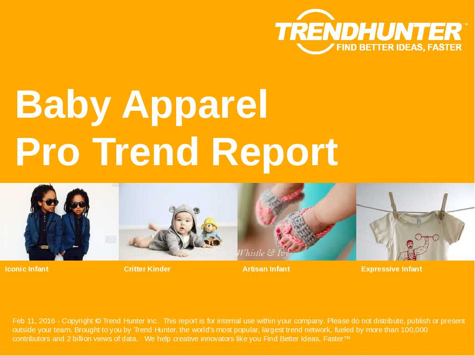 Baby Apparel Trend Report Research