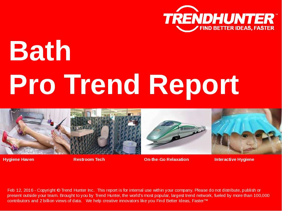 Bath Trend Report Research
