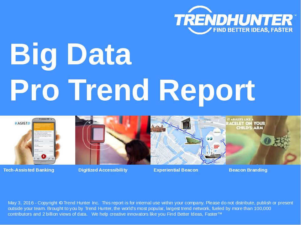 Big Data Trend Report Research