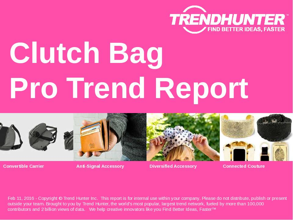 Clutch Bag Trend Report Research