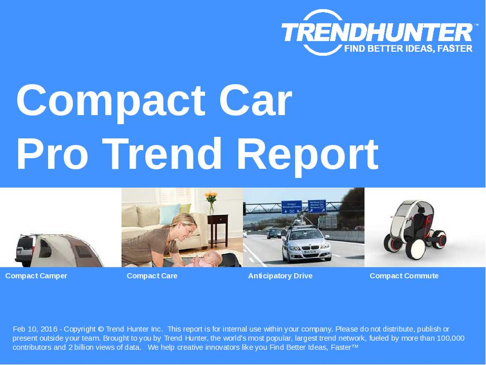 Compact Car Trend Report Research
