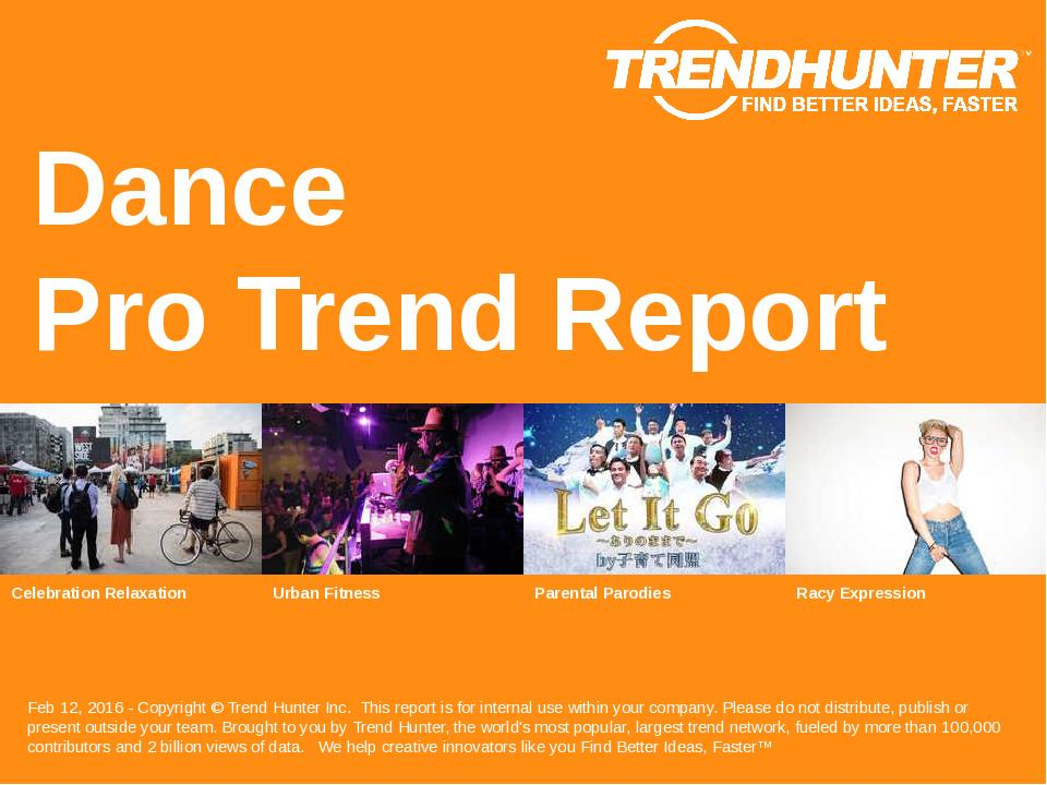 Dance Trend Report Research