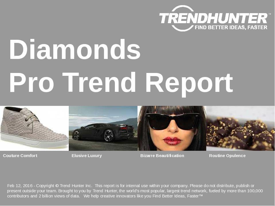 Diamonds Trend Report Research
