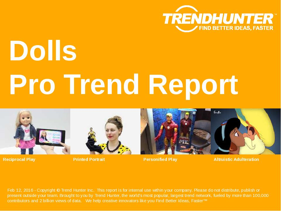 Dolls Trend Report Research