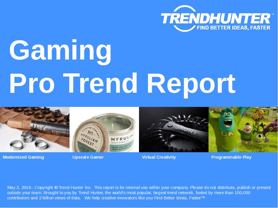 Gaming Trend Report Research