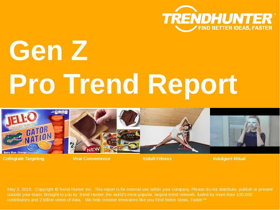 Gen Z Trend Report Research