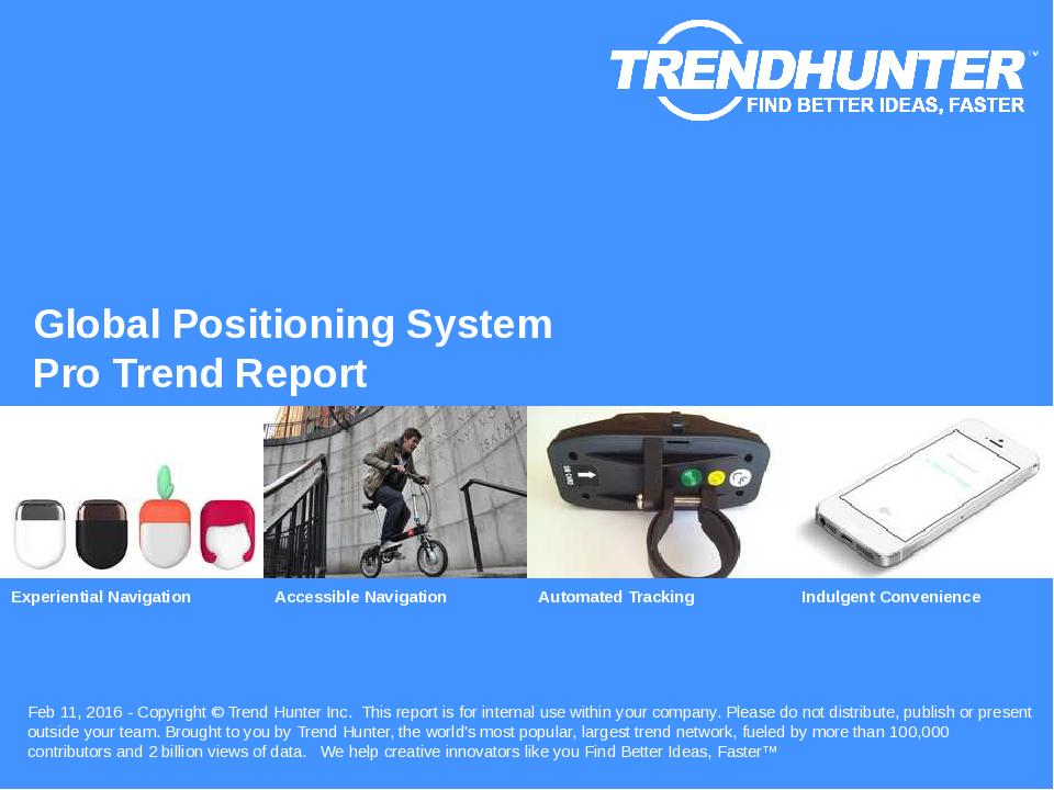 Global Positioning System Trend Report Research