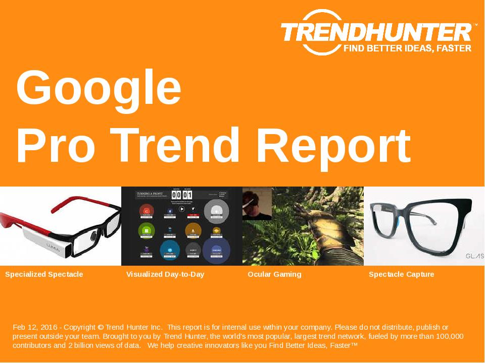 Google Trend Report Research
