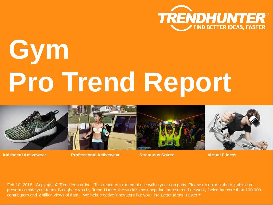 Gym Trend Report Research